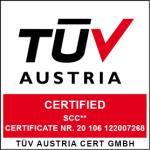 SCC Certifikat